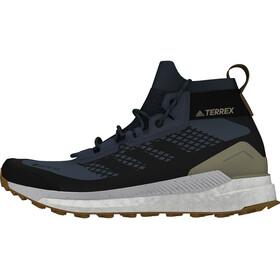 adidas TERREX Free Hiker Gore-Tex Wanderschuhe Herren legacy blue/core black/raw desert